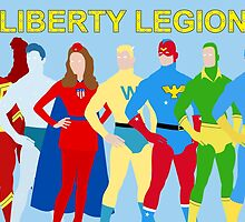 Liberty Legion Minimal  by TheWrightMan