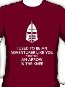"""keep calm"" skyrim T-Shirt"