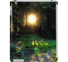 Golden rays iPad Case/Skin