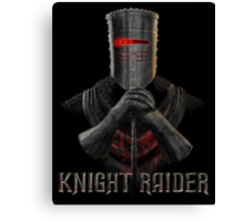 Knight Raider Canvas Print