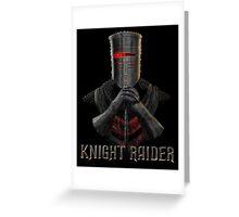 Knight Raider Greeting Card