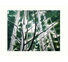 Trees 7 Art Print