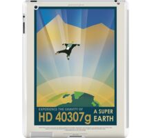 Experience the Gravity of a Super Earth iPad Case/Skin
