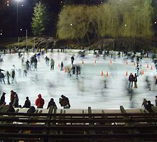 Central Park Ice Rink by Tonia Smreczak
