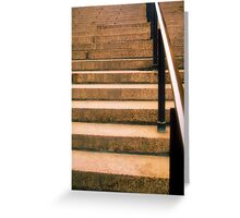 Plaza Steps Greeting Card