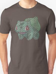 Bulbasaur Typography T-Shirt