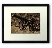 Civil War Iron Framed Print
