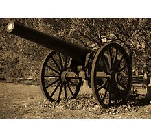 Civil War Iron Photographic Print