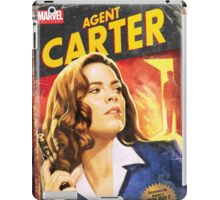 Agent Carter Short Poster iPad Case/Skin