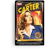 Agent Carter Short Poster Canvas Print