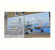 Kincardine Harbour Art Print