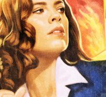 Agent Carter Short Poster Sticker