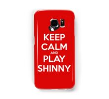 Keep Calm and Play Shinny Samsung Galaxy Case/Skin