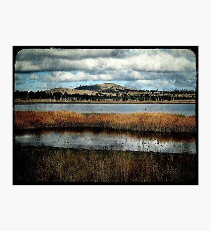 The Birdwatching Hut - Dangars Lagoon, Northern Tablelands, NSW, Australia Photographic Print