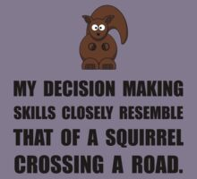 Decision Making Squirrel Kids Clothes