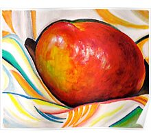 Portfolio...Mango Julie in White.. Poster
