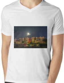 MOONSHOT Mens V-Neck T-Shirt