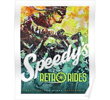 SPEEDY'S RETRO RIDES V.01 / GRAPHIC POSTER  Poster