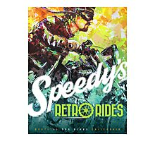 SPEEDY'S RETRO RIDES V.01 / GRAPHIC POSTER  Photographic Print