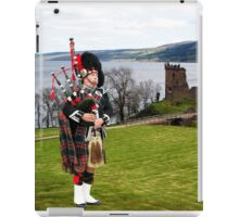 The Lone Piper iPad Case/Skin