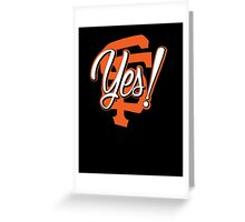 Yes! SF Greeting Card
