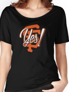 Yes! SF Women's Relaxed Fit T-Shirt