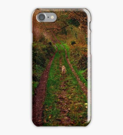 Queen on the track iPhone Case/Skin