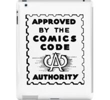 Comics Code Approved iPad Case/Skin