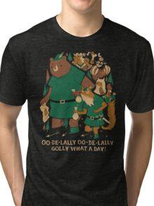 oo-de-lally Tri-blend T-Shirt