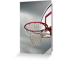 Hoop Dreams Greeting Card