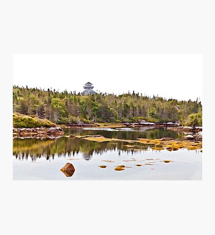 Peggy's Cove Hidden Inlet Photographic Print