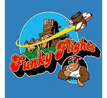 Funky Flights  Photographic Print