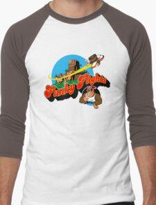 Funky Flights  Men's Baseball ¾ T-Shirt