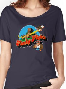 Funky Flights  Women's Relaxed Fit T-Shirt