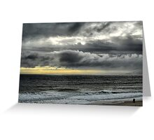 Californian Angry Sky Greeting Card