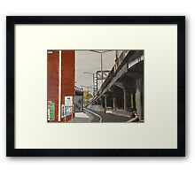 Leaving Richmond Framed Print