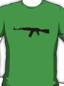 AK-47 assault rifle Kalashnikov T-Shirt