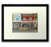 Asian Grocery Store Framed Print