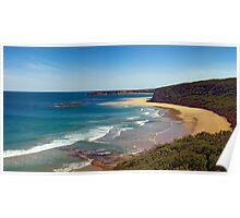 Southside, Bells Beach. Great Ocean Road, Australia Poster