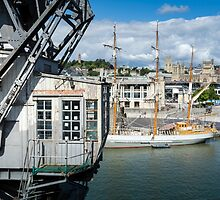 Layers of Maritime History, Bristol by Carolyn Eaton