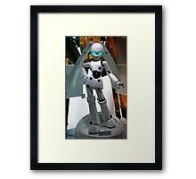 Robot bunny Framed Print