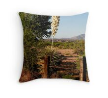 Spanish Dagger Yucca Throw Pillow