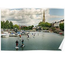 Stand Up Paddle, Bristol Poster
