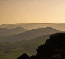 Derbyshire Sunset by Chris Charlesworth