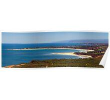 Hurst's Hut through to Lorne... Great Ocean Road, Australia Poster