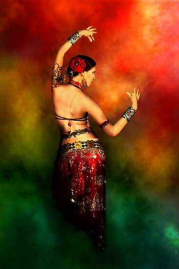 Tattooed Dancer by Heather Prince