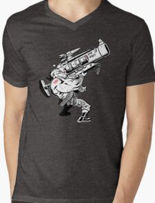 Badass Bazooka Mens V-Neck T-Shirt