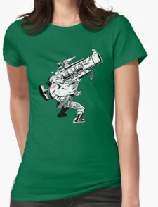 Badass Bazooka Womens Fitted T-Shirt