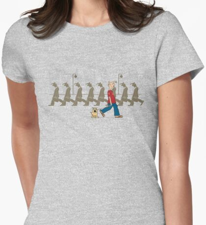 Buck the trend Womens Fitted T-Shirt