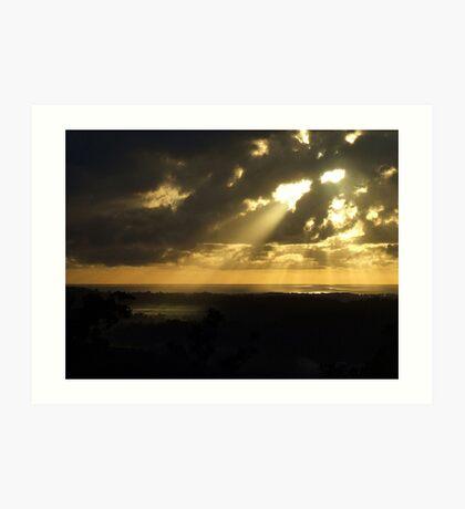 """""""Morning Light Spray"""".. Art Print"""